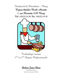 techno cuisine cours 63799851technologie cuisine termine avec couverture et page garde ver