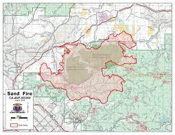 Pierce College Map Sand Santa Clarita Yubanet Fire News