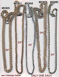 vintage necklace styles images Chains vintage necklaces or belts jpg