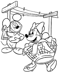 478 mickey mouse u0026 friends colouring pages images