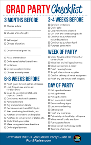 thanksgiving check list the perfect grad party checklist for more helpful tips on