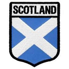 Country Flags Patches Scotland Flag Shield Patch Country Flag Patches