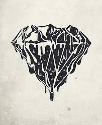 best 25 black diamond tattoos ideas on pinterest diamond heart