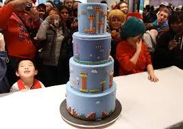 impressive super mario bros cake gadgetsin