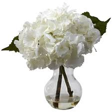 hydrangea arrangements nearly 1314 blooming hydrangea with vase