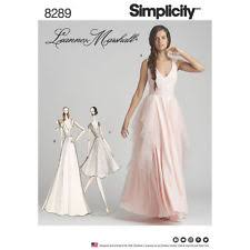 wedding dress patterns simplicity wedding dress sewing patterns ebay