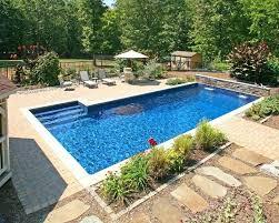 Inground Pool Landscaping Ideas Inground Pool Inground Pools Inground Pool Ideas For Small Yards