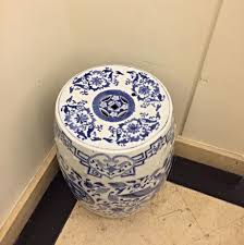 chinese porcelain stool home u0026 furniture on carousell