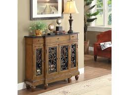 3 drawer accent table vidi oak wood 3 drawer accent console table shop for affordable