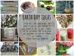 earth day rapping or easy earth day projects