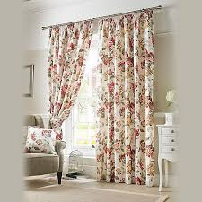 Debenhams Curtains Ready Made Ashley Wilde Chintz U0027carnaby U0027 Pencil Heading Curtains Debenhams