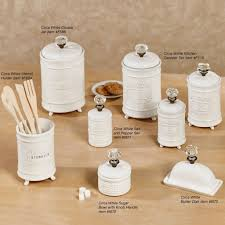 white embossed kitchen canister set http avhts com pinterest
