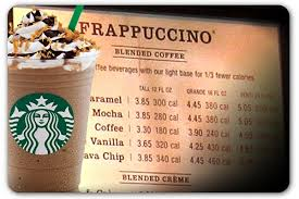 mocha frappuccino light calories grande coffee frappuccino calories coffee drinker