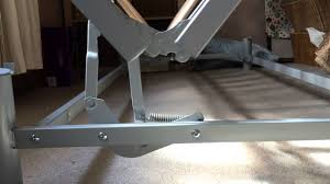 futon metal sofa bed ikea beddinge lövås sofa bed futon mechanism close up youtube