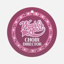 choir singer ornament cafepress