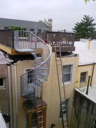construction u2014 spiral stairs