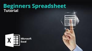 Spreadsheet Tutorial Microsoft Excel Beginners Tutorial Spreadsheet Tutorial