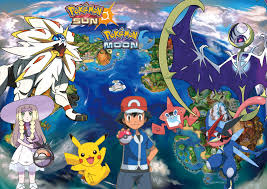 pokemon sun and moon updated cover by hylian trainer on deviantart