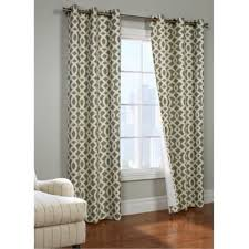 Trellis Curtain Panel Buy Sage Curtains From Bed Bath U0026 Beyond