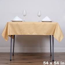 tablecloth for 54x54 table 54 x 54 chagne wholesale seamless polyester square tablecloth