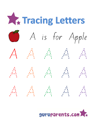 alphabet worksheets guruparents
