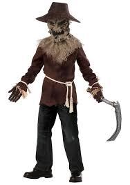 evil scarecrow monster boys child halloween costume walmart com
