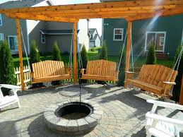 pergola swing plans articles with fire pit gazebo ideas tag captivating fire pit