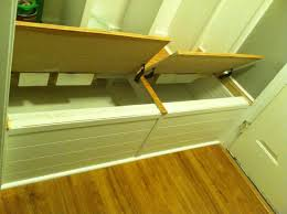 ana white mail sort locker inspiration on a flip top bench diy