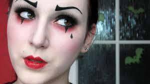 halloween mime makeup pierrot the clown makeup tutorial youtube