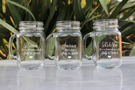 personalized mugs for wedding any quantity jar wedding glasses wedding party
