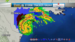 New Orleans Weather Map by Western U0027s Weather Wrap Quiet Here While Hurricane Harvey Churns