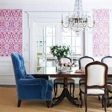 Pink Dining Room Chairs Upholstered Captain Dining Chairs Design Ideas