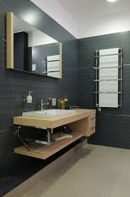 Holz Im Bad Badezimmer Anthrazit Holz Home Design Und Möbel Ideen