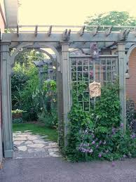 Pictures Of Pergolas In Gardens by The Perfect Pergola Arbor To Go Next To The Garage Leading To The