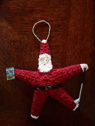 santa starfish ornament starfish ornament and