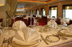 restaurant table setting nice curtain property for restaurant