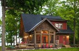 cabin plans with basement lakeside house plans lake walkout basement small home view cottage