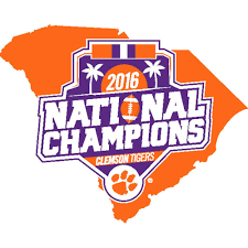Clemson Flags Clemson Tigers College Football Playoff 2016 National Champions
