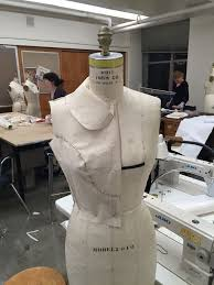 Draping On A Dress Form Beginning Of The End Draping Class Week 4 Of 5 Male Pattern