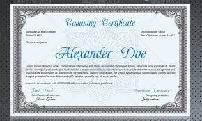 Professional Certificate Templates Free professional certificate templates professional certificate template