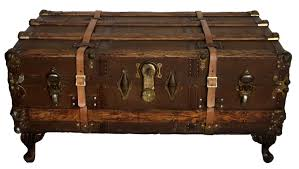 coffee tables beautiful antique steamer trunk coffee table
