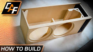 build a better subwoofer box custom design for your exact