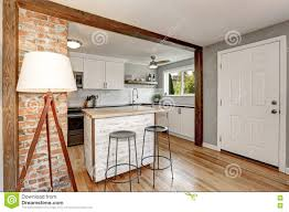 white and grey kitchen room interior stock photo image 79570508
