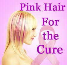 vision hair extensions pink hair for breast cancer awareness month now available at