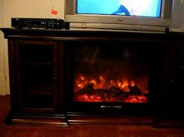 Big Lots Electric Fireplace Our New Tv Stand And Fireplace Youtube For Big Lots Tv Stand With