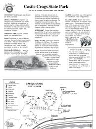 Castle Rock State Park Map by Download Richardson Grove State Park Campground Map Docshare Tips