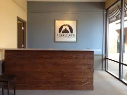 Chiropractic Office Design Ideas Custom Made Reception Desk For A Chiropractic Office Reception