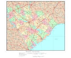 Map Of North Carolina Cities Maps Of South Carolina State Collection Of Detailed Maps Of