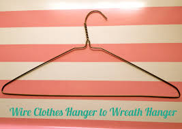 Hangers For Baby Clothes Refashion Wire Clothes Hanger To Wreath Hanger Pretty Providence