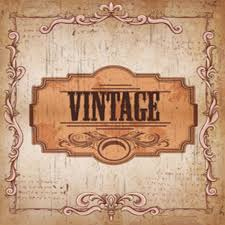 retro vintage background or greeting card with stained